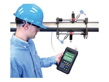 Original Image: BHGE TransPort PT878GC Portable Clamp-On Ultrasonic Gas Flow Meter